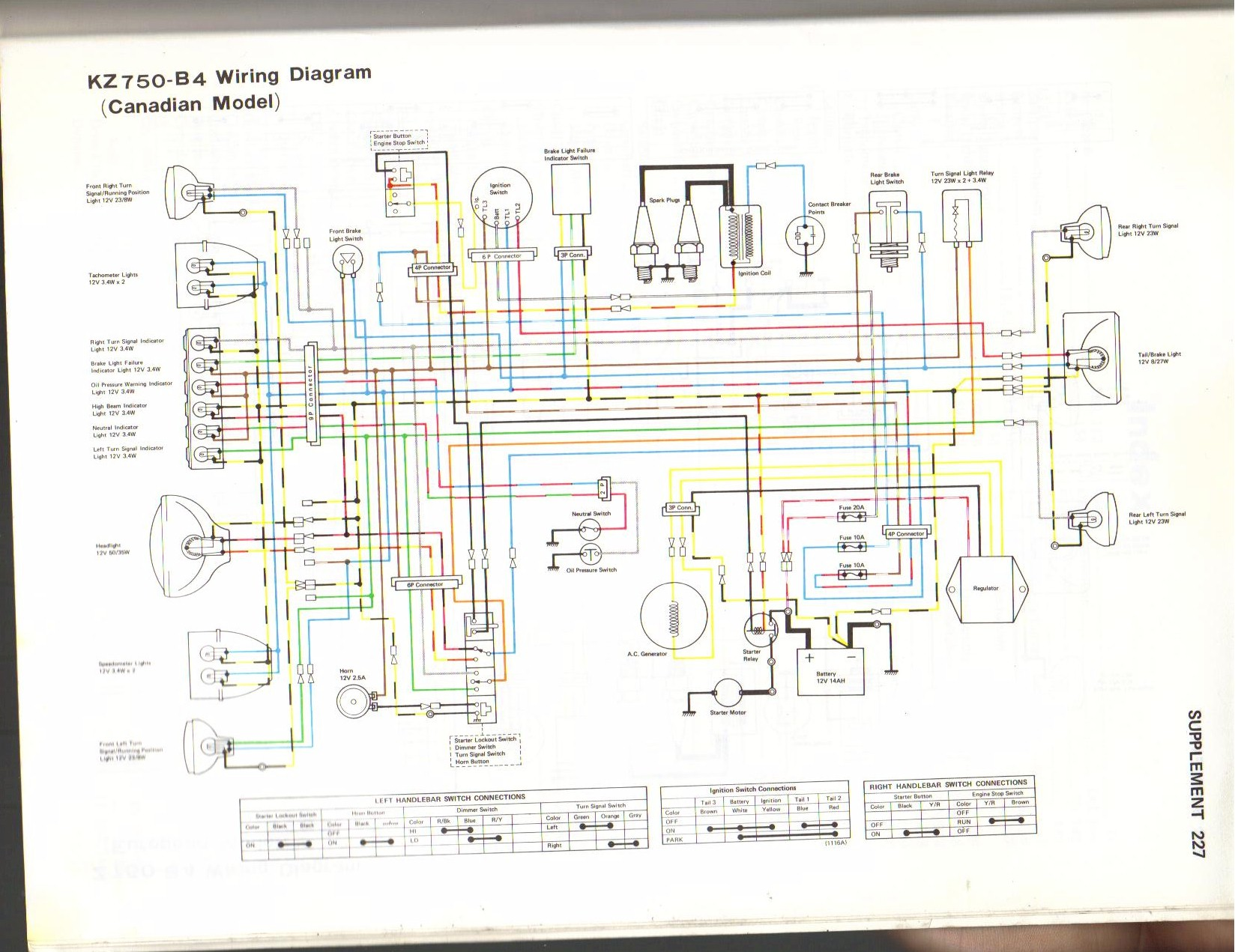kz900 wireing diagram wiring diagram