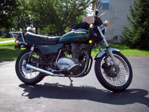 '78 KZ750 With Stock Sidecovers