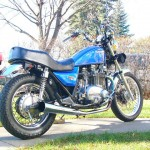 '82 KZ750 M1 (CSR) - bspatz right rear
