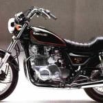 '82 KZ750 Y1 - Stock Photo