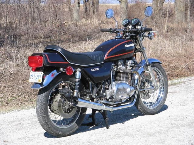 76 Kawasaki Kz750